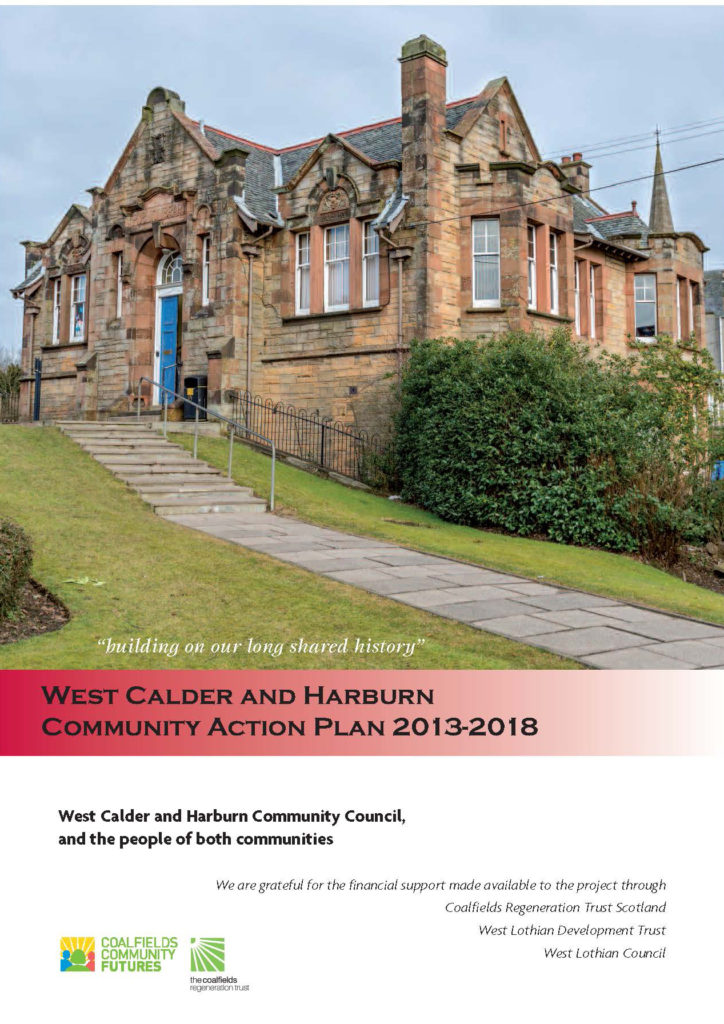 West Calder & Harburn Community Action Plan 2013 -2018_Page_01 edit